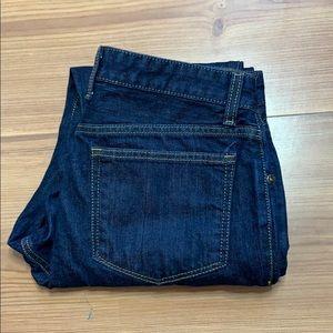 Johnston & Murphy dark wash jeans